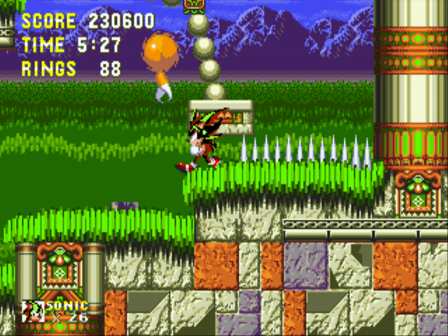Sonic the Hedgehog 3 - shadow walking - User Screenshot